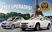 Free upgrades on selected models.